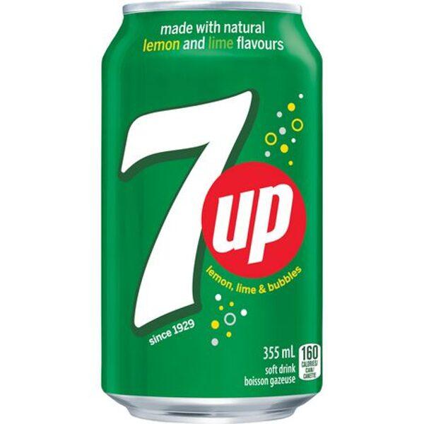 Limonāde 7 UP citrona laimas dzēriens